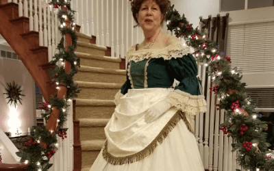 From Flawed to Fabulous: Embellishing a Basic Victorian Ballgown