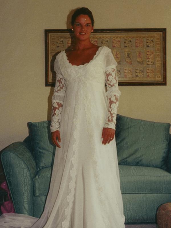 wedding gowns by Marci Heiser, seamstress near Denver, Colorado